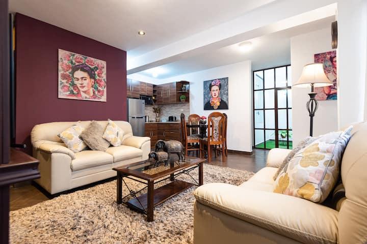 Apartamento independiente  Frida Kahlo