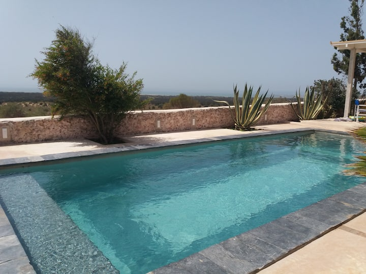 RIAD TAMAYOURT OCEAN VIEW - heated swimming pool