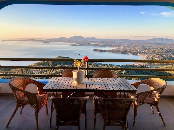 House Teigan, Best Views in Corfu!