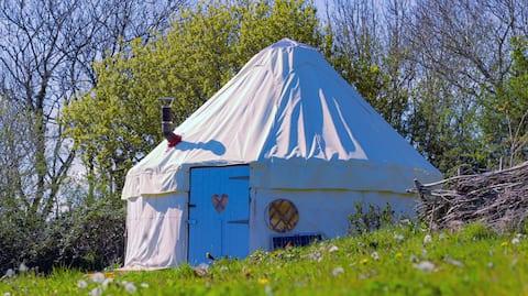 White Yurt