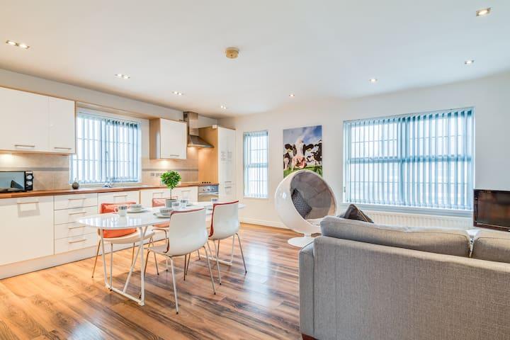 Modern stylish apartment belfast city centre.