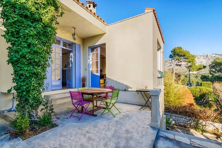 Maison Plein Sud - jardin & terrasse - Télétravail