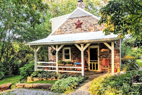 Firefly Cottage,  A Converted 1850s Schoolhouse
