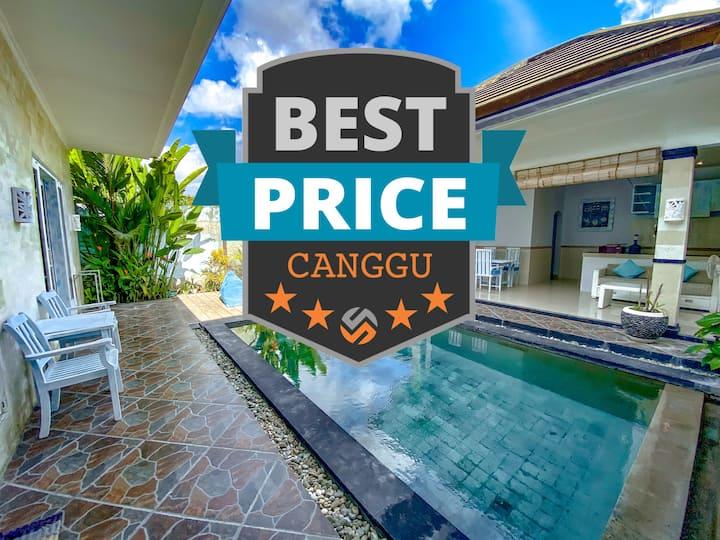 Canggu - near Beach - private pool - 2br Villa