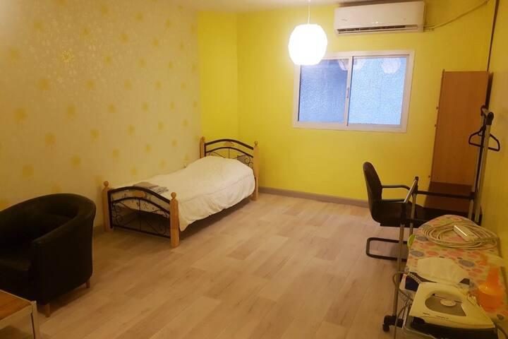 Sanitized Olaya Villa Private Bedroom 도심 개인실