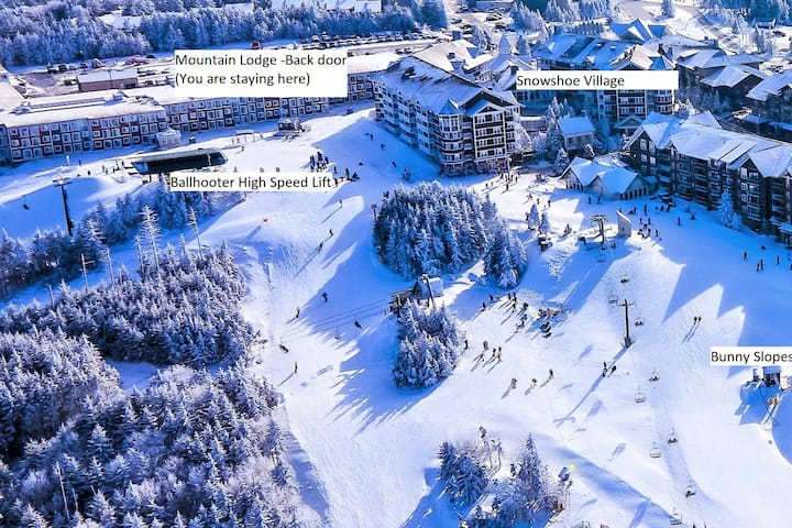 Stroll to Slopes, Village Area, Ski in/out Unit224