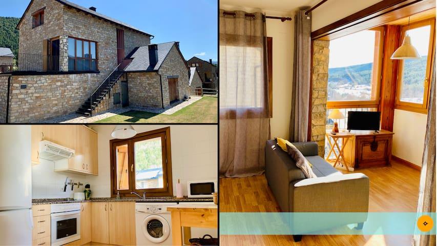 Casa Mya. 3 Bedroom Duplex in the Spanish Pyrenees