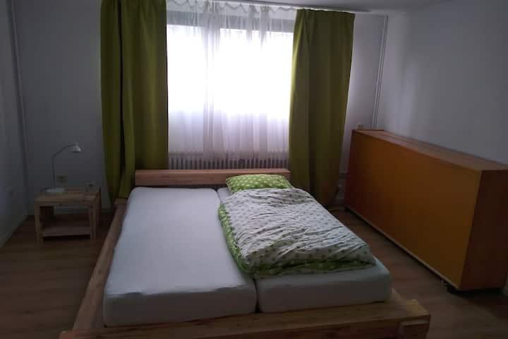 Separates Zimmer und Bad keine Ansteckungsgefahr