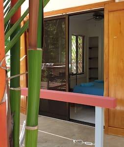 2 m wide slide bay windows in master bedroom.  2 identical slide bay windows in living room.