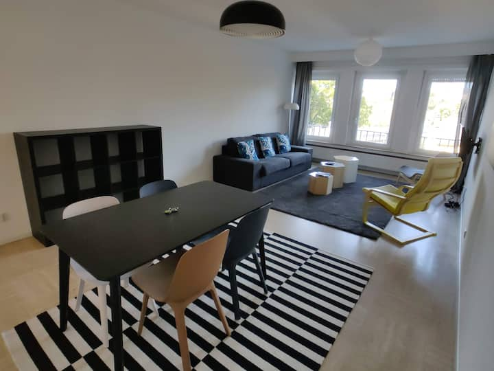 Spacious 2 Bedroom Flat in the Center of Lux City
