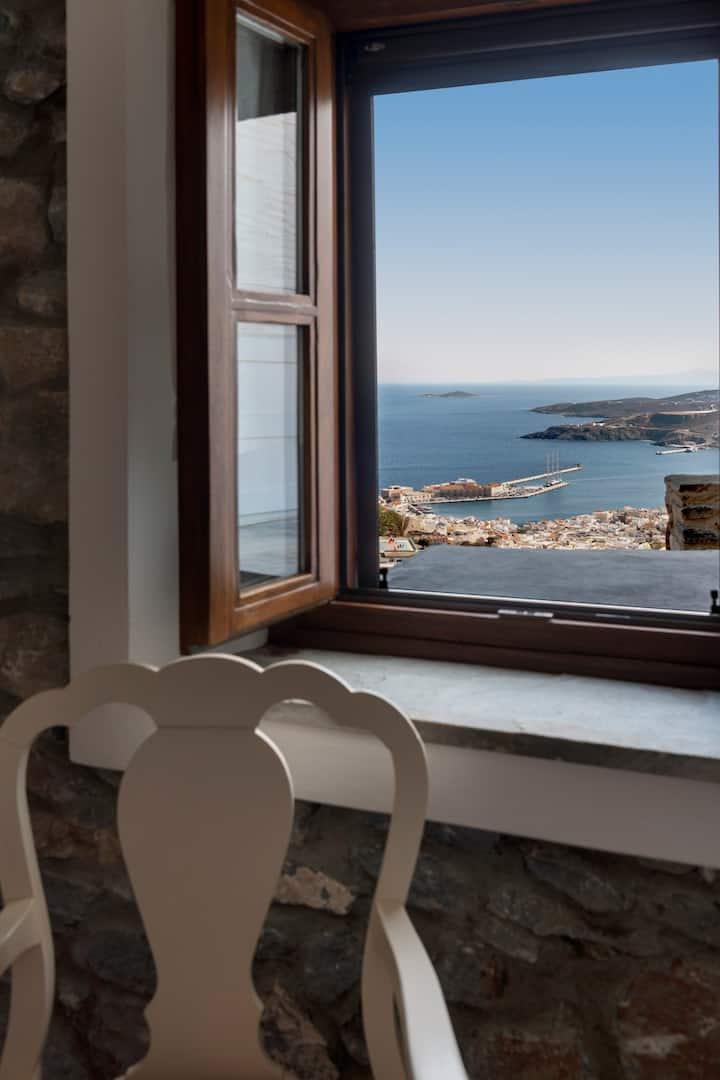 "Deluxe Room with Balcony & Sea View - ""Flight"""