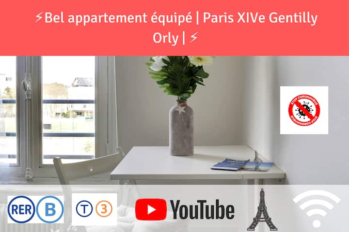 ★Lovely flat close to Saint Michel / Eiffel Tower★