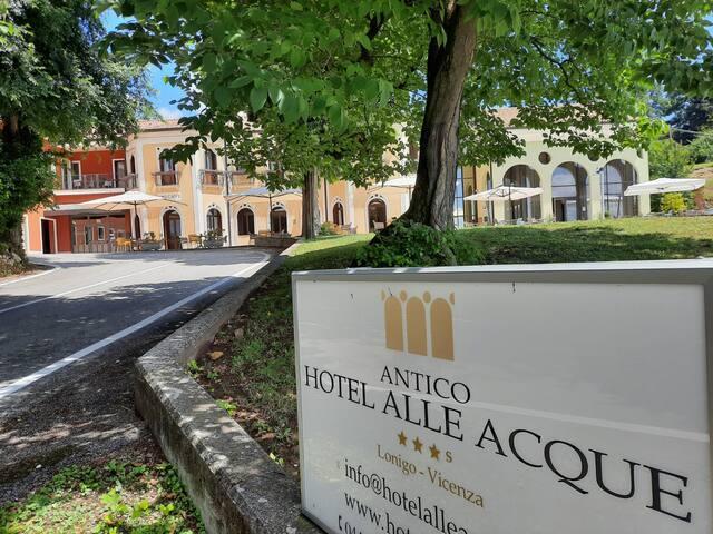 Antico Hotel alle Acque Camera letto alla Francese