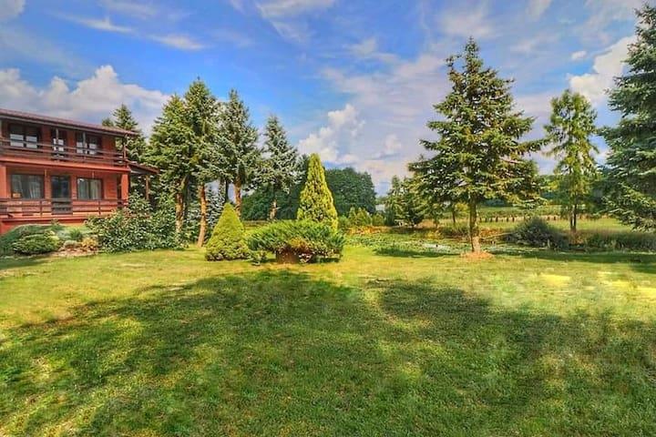 Dom Wakacyjny z ogrodem 3ha Siedlisko Witaszyn