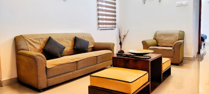 Fully Furnished 3 BHK - TAVAT Serviced Apartment