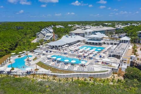 """""""Watercolor-Getaway Bungalow"""" Beach/6 Pools/Camp"""