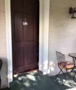 Wide front door
