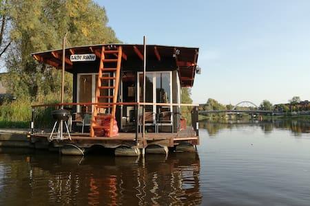 Floating sauna (Current address: Liiva 4, Tartu)