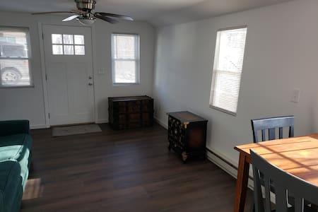Studio apartment all doorways 36 inch wide.
