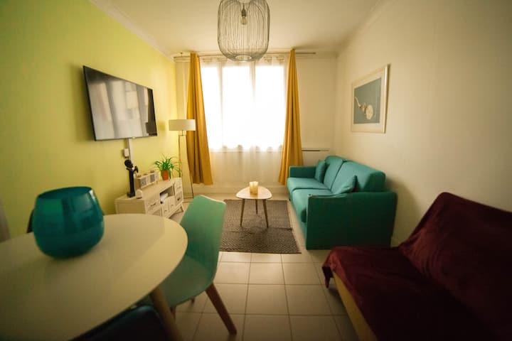 #Dormir Au Havre BELLANGER ( Studio Plage )