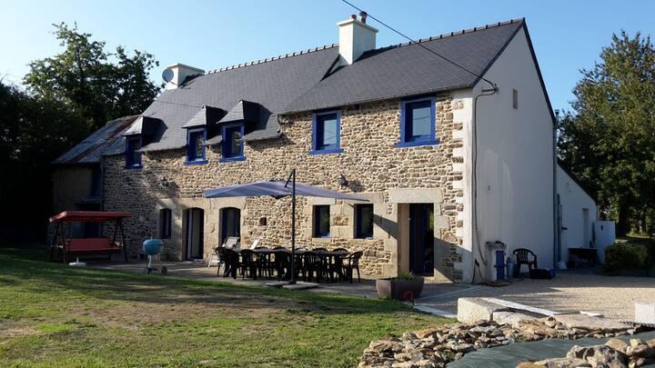 Belle longère bretonne aux portes de Dinan