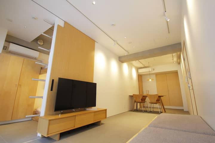 Japanese-modern Apartment near Shinjuku!