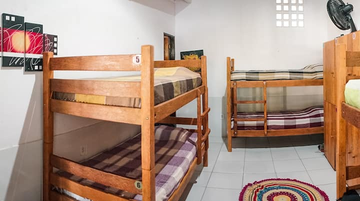 Casa Namastê - Suíte de 6 camas