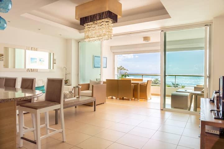Exclusive Beachfront Apartment near Santo Domingo