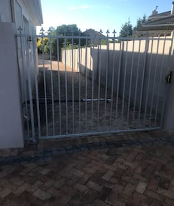 Entrance into property