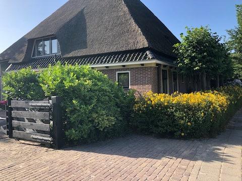 Schönes Gästehaus in Nord-Holland Bauernhaus.