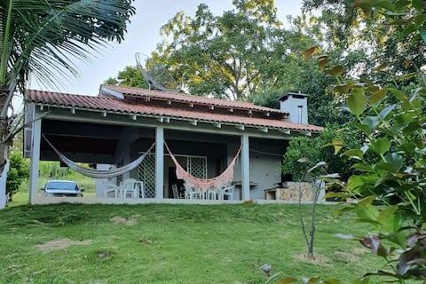 Casa no Lago Cruzeiro do Iguaçu /Wi-fi /ar cond.