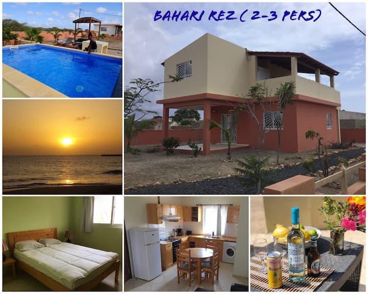 Bahari rez : piscine, nature et tranquilité, WIFI