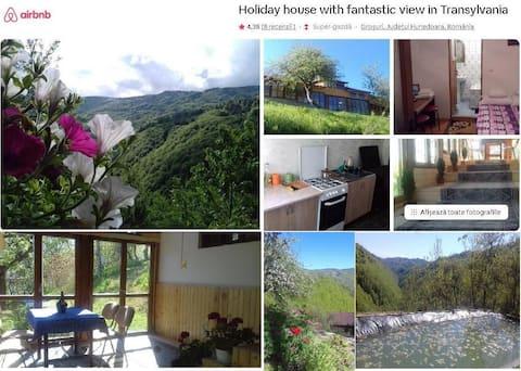 Дом для отпуска с фантастическим видом на Трансильванию