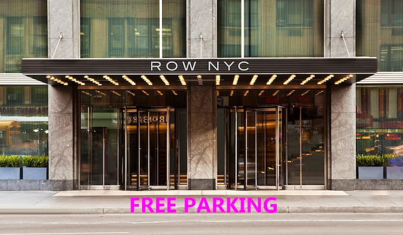 Enjoy great views of the City with FREE PARKING!