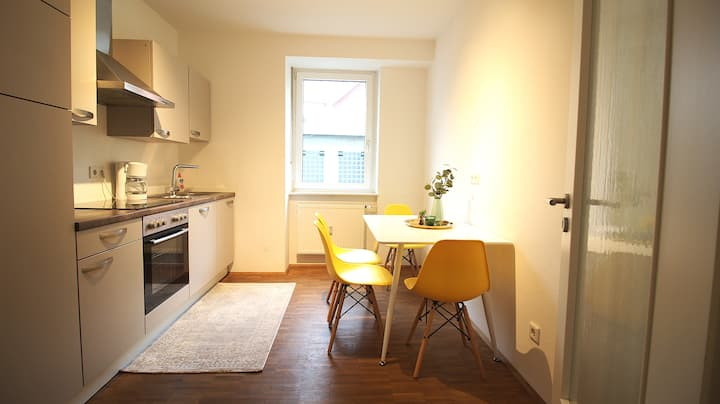 Bright apartment in the middle of the city centre