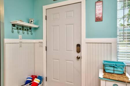 Front door access.