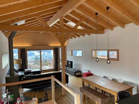 Entire family chalet in Vollèges, 3BDR, sleeps 5-6