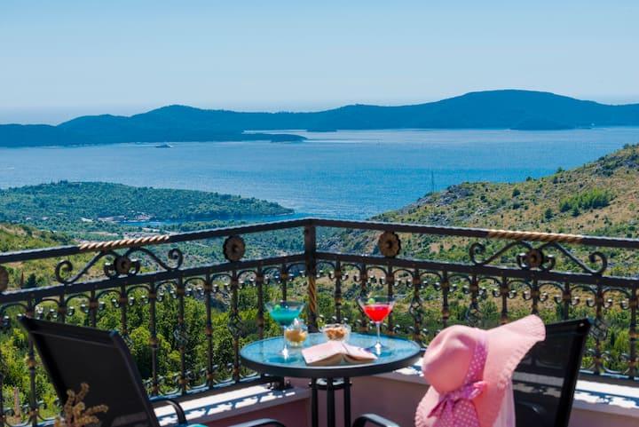 Villa MarAnte **** ~ Private Pool and Sea View