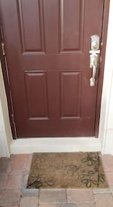 """Front entrance has a 4"""" step up Main door is 31"""" wide"""