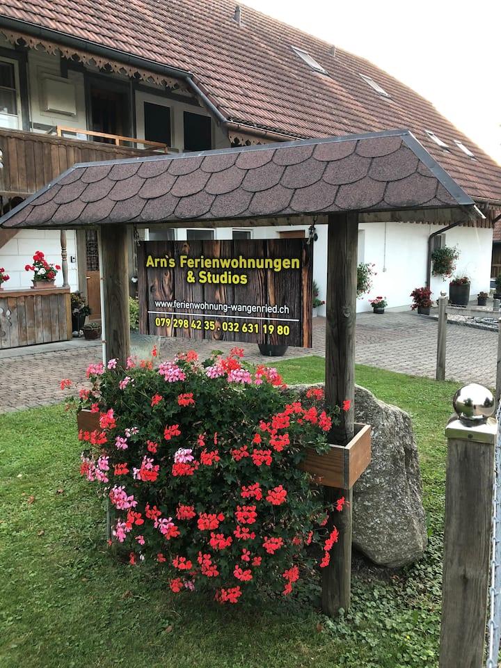 Ferienwohnung Wangenried EG, Altbau