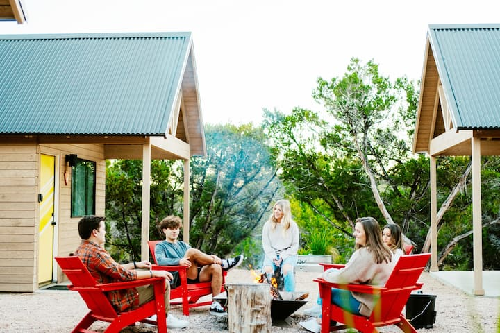Dripping Springs - Courtyard Cabin+Hot Tub+Pool