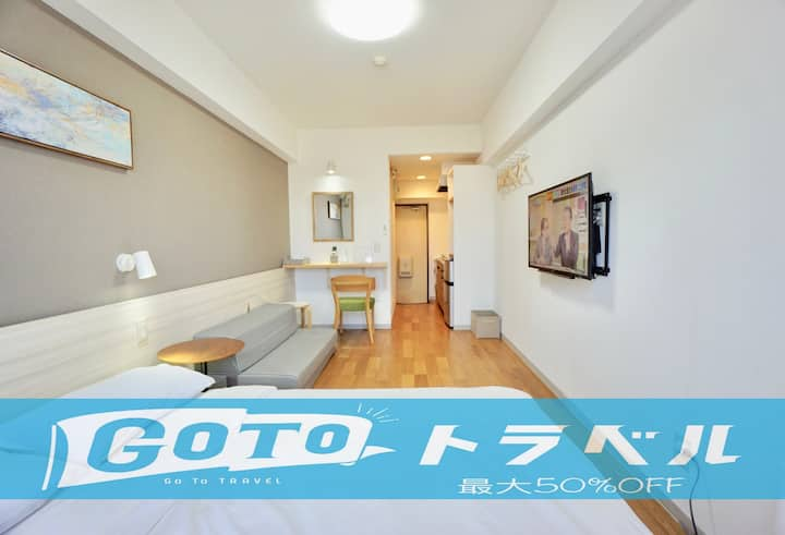 3G.Near Nagoya Sta./Bicycle Lend/Free parking WiFi