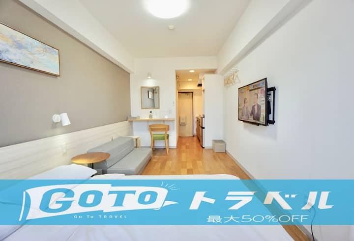 3G.Near Nagoya Sta./Bicycle Lend/Free parking WiFi
