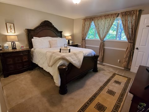 Gorgeous Updated Master Suite with Private Bath