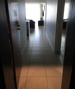 Flat entry to unit