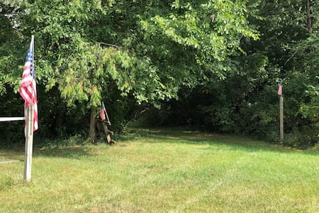 Michelle's Primitive Camping Nook