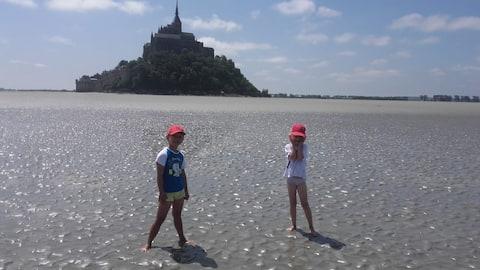 Near Mont Saint Michel