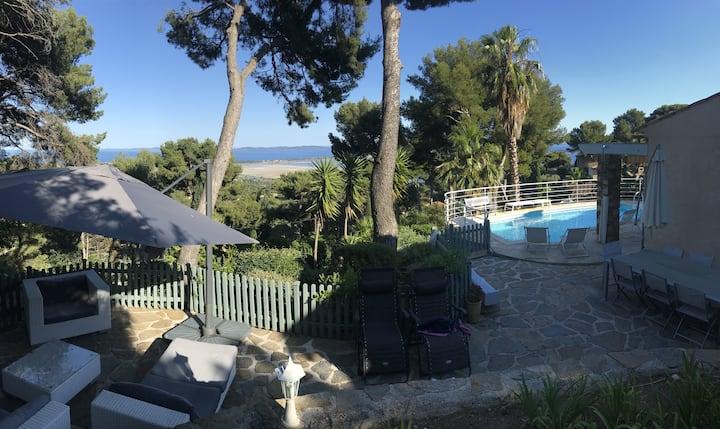 Villa 10pers Mont des Oiseaux Piscine, 5min plages