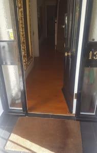 Wide door entrance.