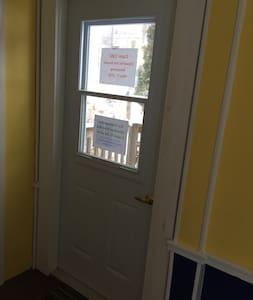 Door is accessible width compliant with provincial regulations